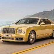 El Bentley Mulsanne 2016 será presentado en el Salón de Ginebra - SoyMotor