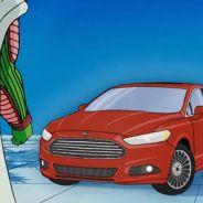 Piccolo mira sorprendido a la aparición del Ford Fusion - SoyMotor