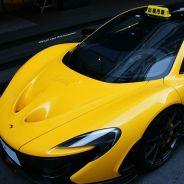 El peculiar Mclaren P1 'Taxi' en Taiwan - SoyMotor