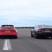 Los tres modelos aguardan la salida de la 'drag race' - SoyMotor