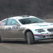 El BMW 650i de lado en un tramo de tierra. ¿Quién se lo podía imaginar? - SoyMotor