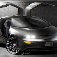 El Delorean DMC21 tiene sus propias puertas 'ala de gaviota' - SoyMotor