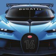 Imponente presencia del Bugatti Vision Gran Turismo - SoyMotor