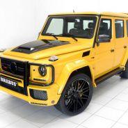 Brabus se desmarca de su habitual color negro por un amarillo brillante en este G63 - SoyMotor