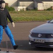 Simulación de un atropello en un test EuroNCAP de un vehículo Volkswagen - SoyMotor