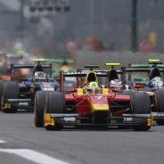 Salida de la segunda carrera de Monza de la GP2 - LaF1