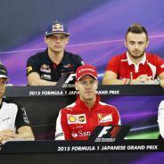 Rueda de prensa del jueves del GP de Japón - LaF1