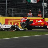 Accidente de Bottas con Räikkönen - LaF1