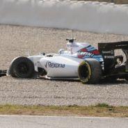 Felipe Nasr y Susie Wolff tras el accidente - LaF1