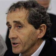 Alain Prost, durante la presentación de Renault - LaF1