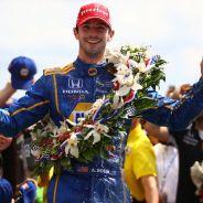 Alexander Rossi tras su victoria en Indianápolis - laF1