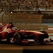 Fernando Alonso durante la clasificación del GP de Abu Dabi F1 2013 - LaF1