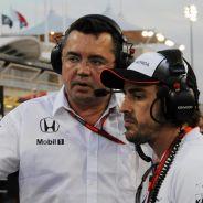 Alonso reconoce el buen trabajo de Boullier con el equipo - LaF1