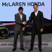 Fernando Alonso y Jenson Button en la rueda de prensa de McLaren y Honda en Tokio - LaF1