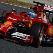 Fernando Alonso, hoy en el Circuit de Barcelona-Catalunya - LaF1