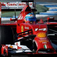 Fernando Alonso en los test de Jerez - LaF1