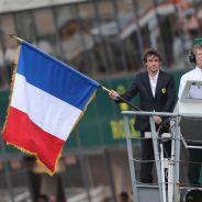 Fernando Alonso da la salida de Le Mans 2014 - LaF1