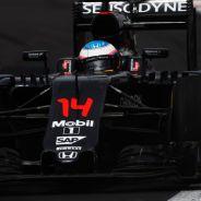 Alonso durante el GP de México - LaF1
