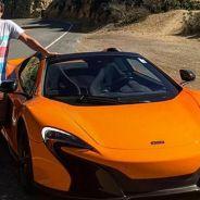 Alonso disfruta de California con un McLaren 650S -Soymotor