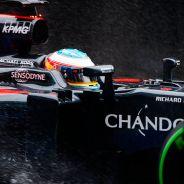Fernando Alonso en los tests de Silverstone - LaF1