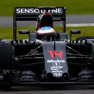 Fernando Alonso, hoy en Silverstone - LaF1