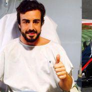 Fernando Alonso, sonriente desde el Hospital General de Catalunya - LaF1
