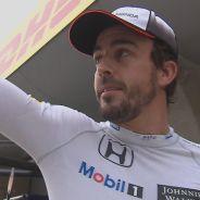 Fernando Alonso tras caer eliminado - LaF1
