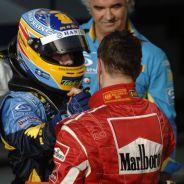 Alonso y Schumacher tuvieron una fuerte rivalidad en 2006 - SoyMotor