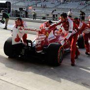 Fernando Alonso en el Pit Lane de Estados Unidos - LaF1