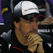 Fernando Alonso ha revelado hoy su lesión en la rueda de prensa oficial de la FIA - LaF1