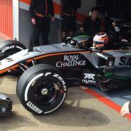 Nico Hülkenberg a los mandos del nuevo Force India - LaF1