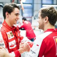 Vettel y Gutiérrez en Maranello - LaF1.es