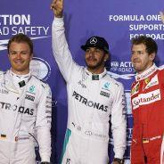 Los tres primeros clasificados de la clasificación - LaF1