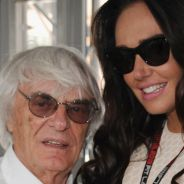 Bernie Ecclestone con su hija Tamara en el GP de Mónaco F1 2013