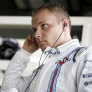 Valtteri Bottas en el box de Williams - LaF1