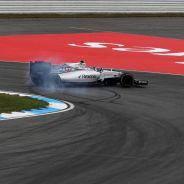 Bottas perdió el control del monoplaza en la horquilla de Hockenheim - LaF1