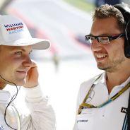 Valtteri Bottas se muestra feliz de estar Williams - LaF1.es