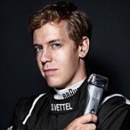 Sebastian Vettel en el anuncio de Braun - LaF1