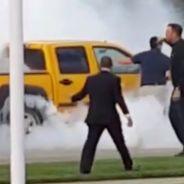 Una conductora 'quema rueda' mientras permanece inconsciente - SoyMotor.com