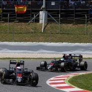 Alonso está contento con el trabajo de Button en McLaren - LaF1
