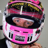 Jenson Button, preocupado por el futuro de Kevin Magnussen