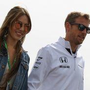 Jessica Michibata y Jenson Button - LaF1