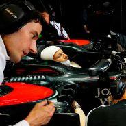 Jenson Button en el GP de Bélgica - LaF1