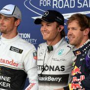 Rosberg torea la lluvia mejor que nadie y se lleva la Pole con Vettel 2º - LaF1.es