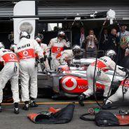 Jenson Button en Spa-Francorchamps