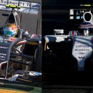 Esteban Gutiérrez y Valtteri Bottas, en Melbourne - LaF1