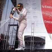 Lewis Hamilton y Nico Rosberg en el podio de Canadá - LaF1