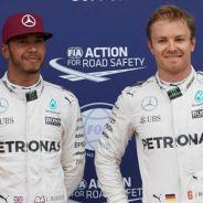 Hamilton y Rosberg tras la sesión de clasificación de Canadá - LaF1
