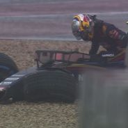 Carlos Sainz tras su accidente - LaF1