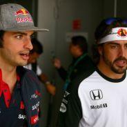 Alonso valora la temporada de debut de Sainz - LaF1